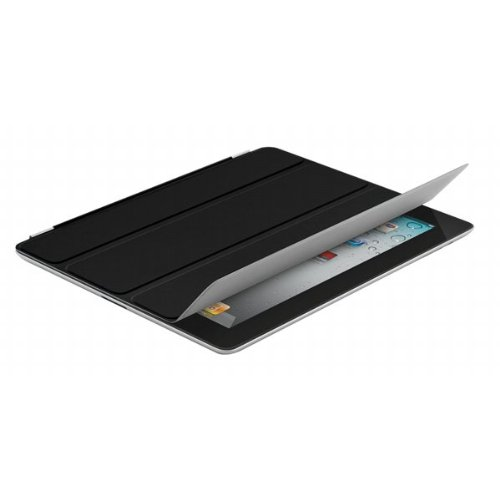 Smart Wrap Cover With Built-In Magnetic Stand for iPad 2, Black