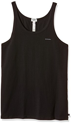 DIESEL - UMTK-BALE, T-shirt Uomo, Nero (Negro 900), M (Taglia Produttore: M)