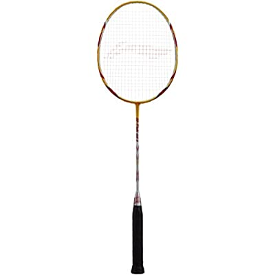 Li-Ning G-Tek 98 II Badminton Racquet (Gold/Grey)