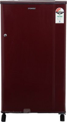 Sansui SH163BBR-FDA Direct-cool Single-door Refrigerator (150 Ltrs, 3 Star Rating, Burgundy Red)