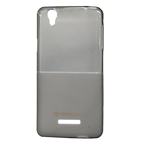 Jo Jo Totu Half Design Soft Silicon Back Cover For Micromax Yu Yureka Black