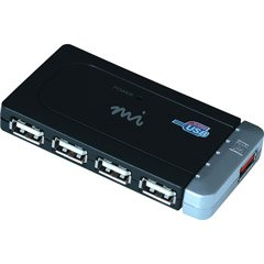 5PORT Hub USB 2.0 with Ac Adapter Hi-speed Mobility