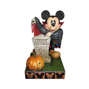 Click to buy Halloween Outdoor Lights: Jim Shore Disney Traditions Halloween- Mickey Mouse Happy Haunt figurine from Amazon!