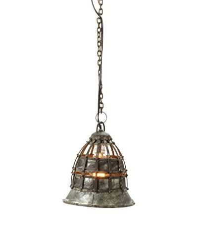 Artistic Lighting Flared Fortress Pendant Light, Small Flared