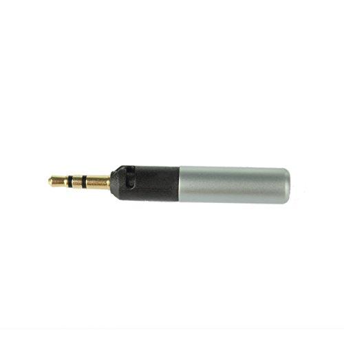 Getek Male Repair Headphone Jack Plug Audio Soldering & Spring For Sennheiser Hd598 Hd558 Hd518
