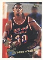 Kurt Thomas Miami Heat 1995 Topps Draft Pick Autographed Hand Signed Trading Card -... by Hall+of+Fame+Memorabilia