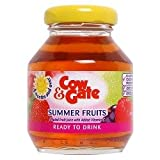 Cow and Gate Summer Fruits Ready To Drink From 12 Months Onwards 6x125ml Jars