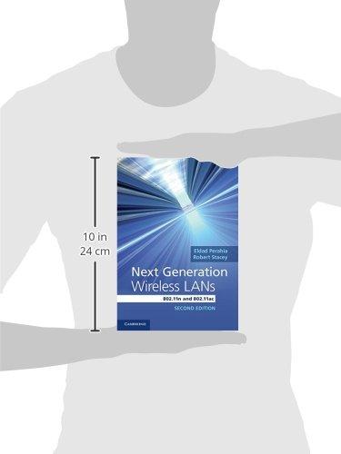 Next Generation Wireless LANs 2nd Edition Hardback
