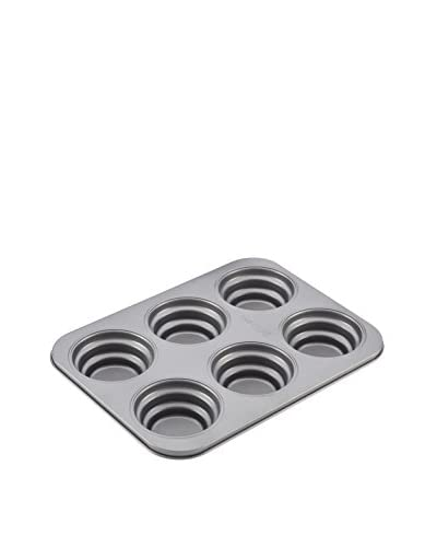 Cake Boss Novelty Bakeware Nonstick 6-Cup Round Cakelette Pan