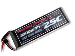 3300mAh 2S 7.4V G6 Pro Lite 25C LiPo