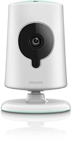 Philips B120S/10 Écoute-bébé sans fil avec moniteur HD 2 zooms numériques Blanc