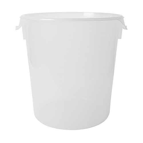 Rubbermaid Commercial Products FG572824CLR 22-Quart Round Storage Container (Commercial Grade Food Containers compare prices)