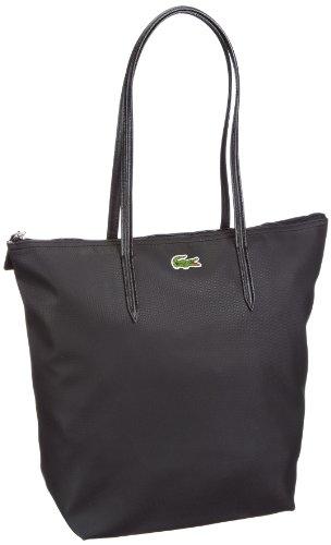 Lacoste  Women Handbag,  Borsa shopper donna, Nero (Schwarz (Black 000)), 27x35x14 cm (B x H x T)