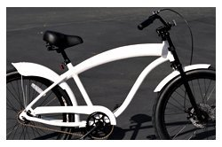 Anti-Rust Aluminum frame, Fito Modena GT Alloy 1-speed Matte White, Disk Brake, men's 26