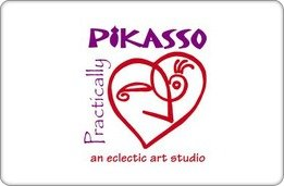 Practically Pikasso Gift Card ($50) front-862146