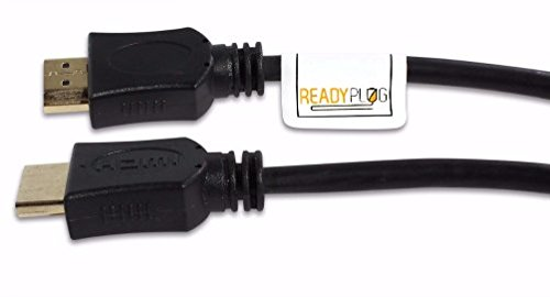 6ft ReadyPlug® HDMI Cable for Mitsubishi WD-65738 65-Inch 3D DLP HDTV (65 Inch Mitsubishi compare prices)