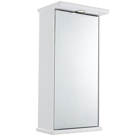 Ultra Niche Single Mirrored Cabinet LQ386