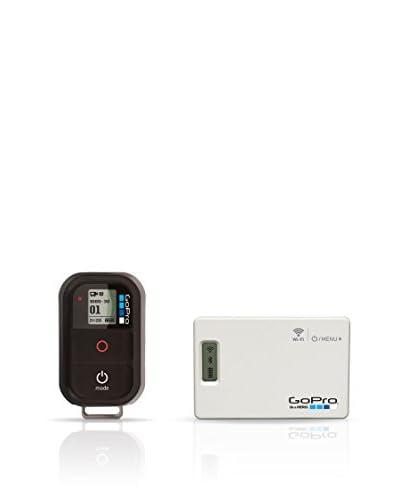 Gopro Wi-Fi Combo Kit Comando A Distanza Con Fissaggi