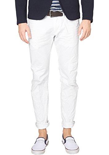 s.Oliver Herren Straight Leg Jeanshose 13.504.71.8407, Gr. W33/L30 (Herstellergröße: 33), Weiß (white 0100)
