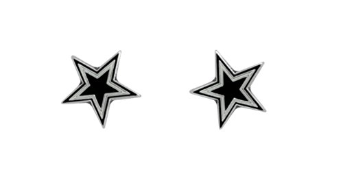 Licensed Nfl Dallas Cowboys Team Logo And Colors Post Earrings (Gift Box Included)