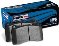 Hawk 97-06 Corvette (Incl C5 Z06) Hps Street Rear Brake Pads