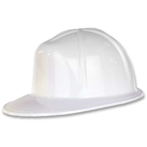 White Plastic Construction Helmet