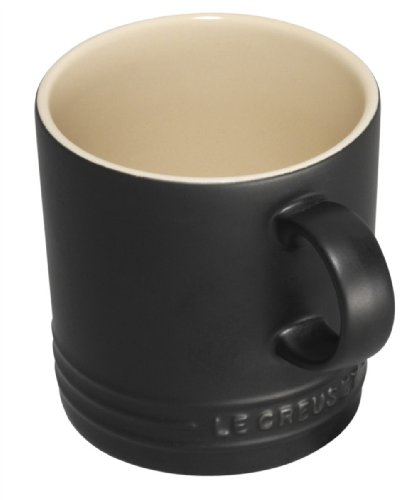 Le Creuset 350 ml Stoneware Mug in Satin Black