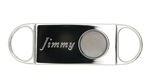 Monogrammed Personalized Cigar Cutter For Wedding Party Or Father'S Day Gift front-225444