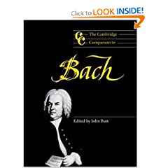 The Cambridge Companion to Bach (Cambridge Companions to Music)