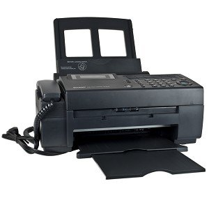 Sharp UX-B750 Inkjet Fax Machine w/Built-in Telephone Handset - Print Scan and Send Faxes!
