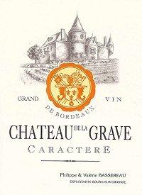 Chateau De La Grave Cotes De Bourg Cuvee Caractere 2009 750Ml