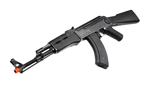 410 FPS JG Airsoft Full Metal Gearbox AK47 Airsoft AEG Rifle- Tactical Black Finish