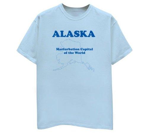 Alaska - Masturbation Capital - Buy Alaska - Masturbation Capital - Purchase Alaska - Masturbation Capital (Direct Source, Direct Source Shirts, Direct Source Womens Shirts, Apparel, Departments, Women, Shirts, T-Shirts)