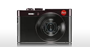 Leica C Typ112 Compact Digital Camera, Dark Red from Leica