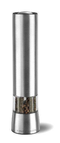 Cole-Mason-Hampstead-Precision-215-mm-Electronic-Stainless-Steel-Pepper-Mill-with-LED-Light