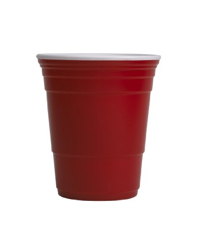 Red Cup Living Reusable Beverage Cup, 18-Ounce, Red (Porcelain Red Solo Cup compare prices)