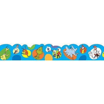 Eureka Dr. Seuss Bubbles Deco Trim