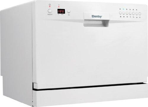 Danby Countertop Dishwasher Faucet Adapter : Danby 6-Place Setting Countertop Dishwasher Durable Stainless Steel ...