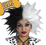 Disguise Women's Disney Cruella De Vil Deluxe Wig Adult