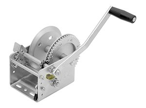 Fulton Trailer 2-Speed Winch, 2600-Pound with Special Drum