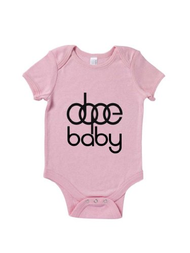 Blue Ivory Dope Baby Grow Dopr Rings Hip Hop Retro Baby Shower Gift Novelty front-12800
