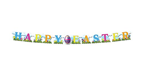 WeGlow International Happy Easter Stremer Novelty
