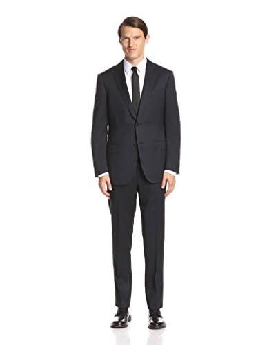 Ermenegildo Zegna Men's Solid Notch Lapel Suit
