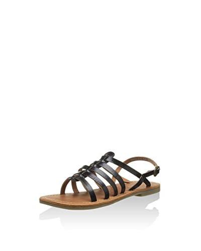 Kickers Sandalo Flat [Nero]