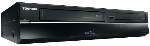 Toshiba DVR20 Built in Freeview Dvd/Vcr Recorder (725/643) Free Pk 10 Recordable DVDS