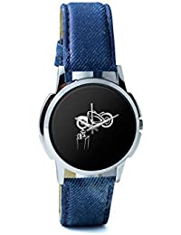 BigOwl Bike Is My Reality Analog Men's Wrist Watch 1293804526-RS1-W-BLU