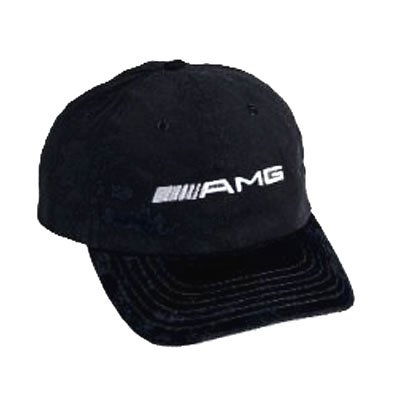 Mercedes Benz AMG Black Baseball Cap