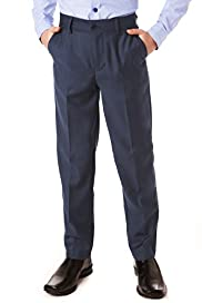 Autograph Straight Leg Flat Front Trousers