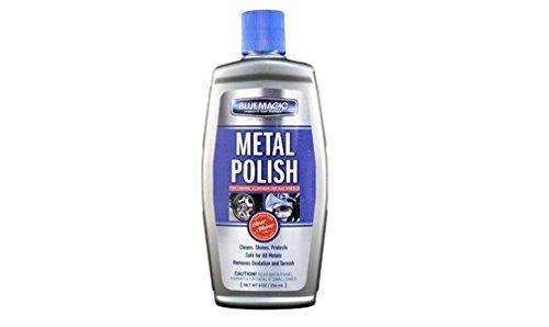 Bluemagic Liquid Metal Polish 8 FL OZ (Blue Magic Metal Polish compare prices)