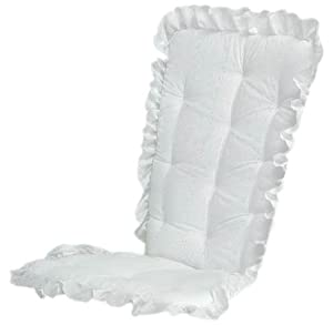 Baby Doll Bedding Carnation Eyelet Adult Rocking Chair Cushion P